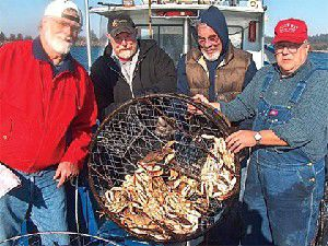 Fish & Feathers: Local recreational crabbing is good