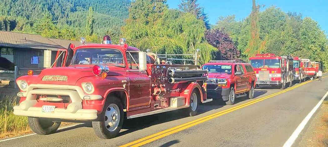 Naselle fire vehicles