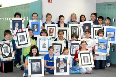 Naselle 6th graders complete interesting biography projects