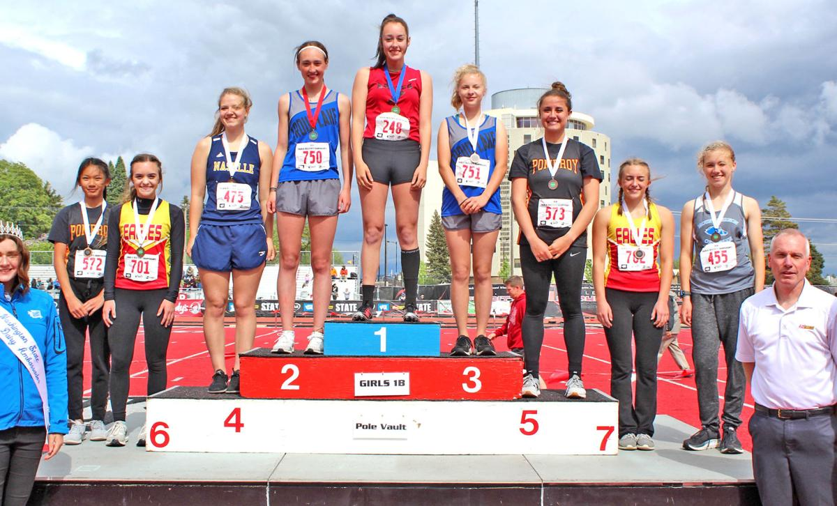 Senior Comet Scrabeck earns fourth in state pole vault