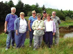 North Coast Audubon Society in full flight, to build viewing platform at Terra Mar