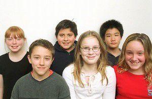 Sixth-grade science fair winners