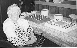 Helen Katerle celebrates 99th birthday with friends