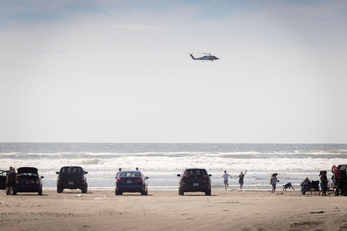 Coast Guard combs surf