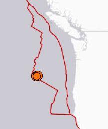Series of earthquakes continues off Oregon coast