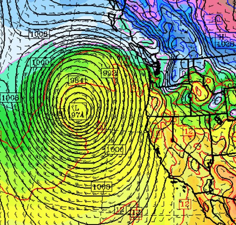Pacific cyclone