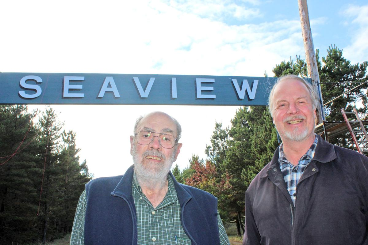 In Seaview, the sign points to teamwork
