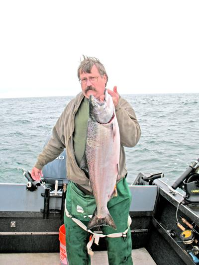 Ocean salmon catch
