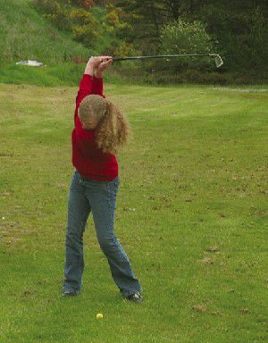 Lady Fishermen golfers improve at district, miss state