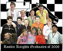 Rookie Knights Graduates of 2006