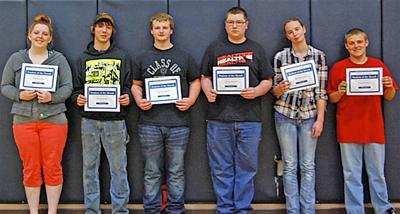 NGRV High School Students of the Month