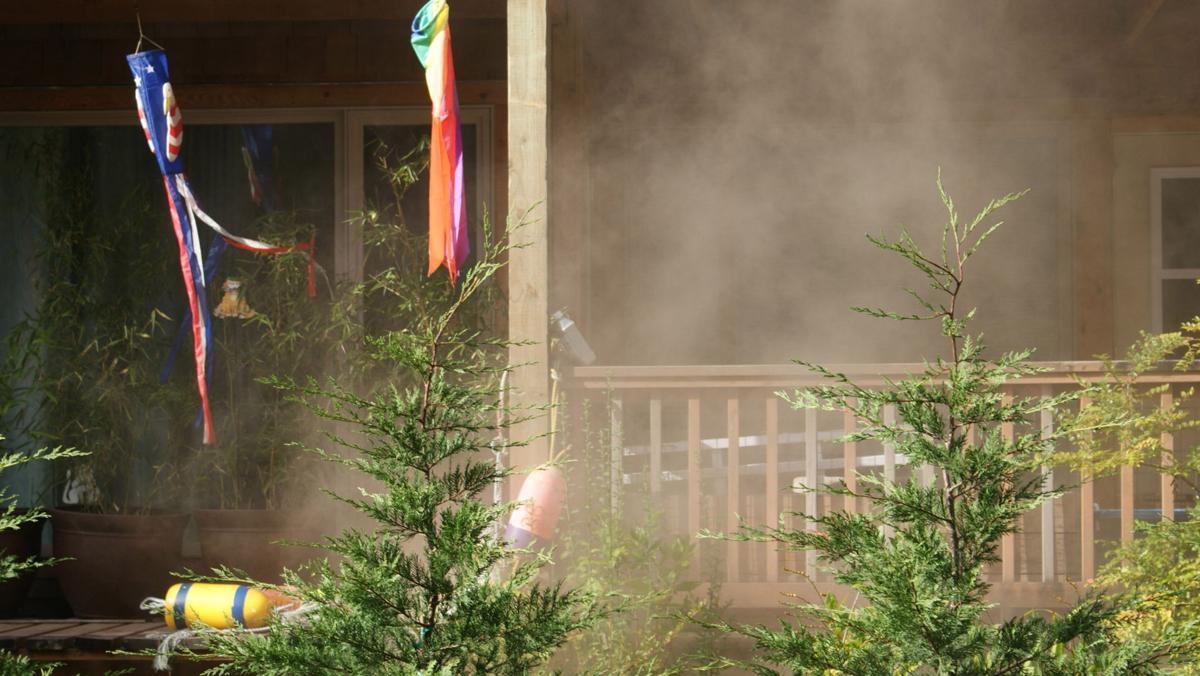 Condo fire generates plenty of smoke