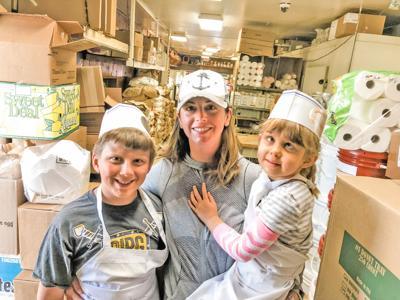 Harrells at the bakery