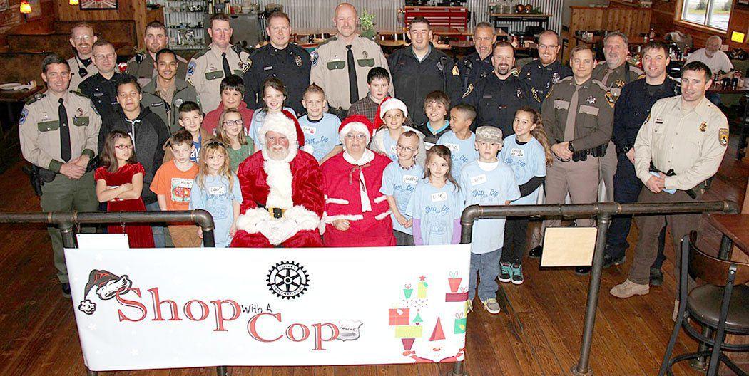 2014 Shop with a Cop event doubles participation