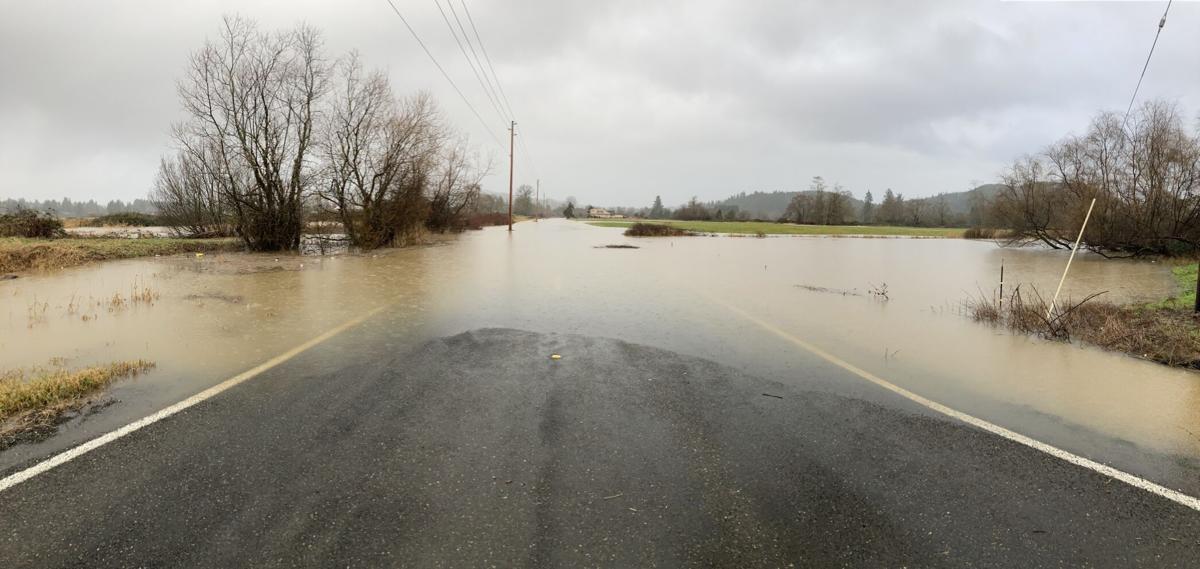 Heckard Road flooding