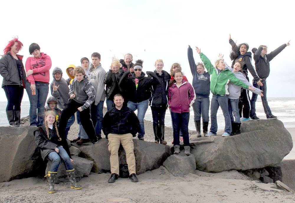 Naselle Pacific Northwest class discovers local history