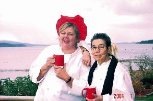 Nanci Main and Jimella Lucas; The women of The Ark: Two by Two, part 2