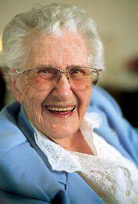 Happy 100th Bithday, Estelle Blaschke!