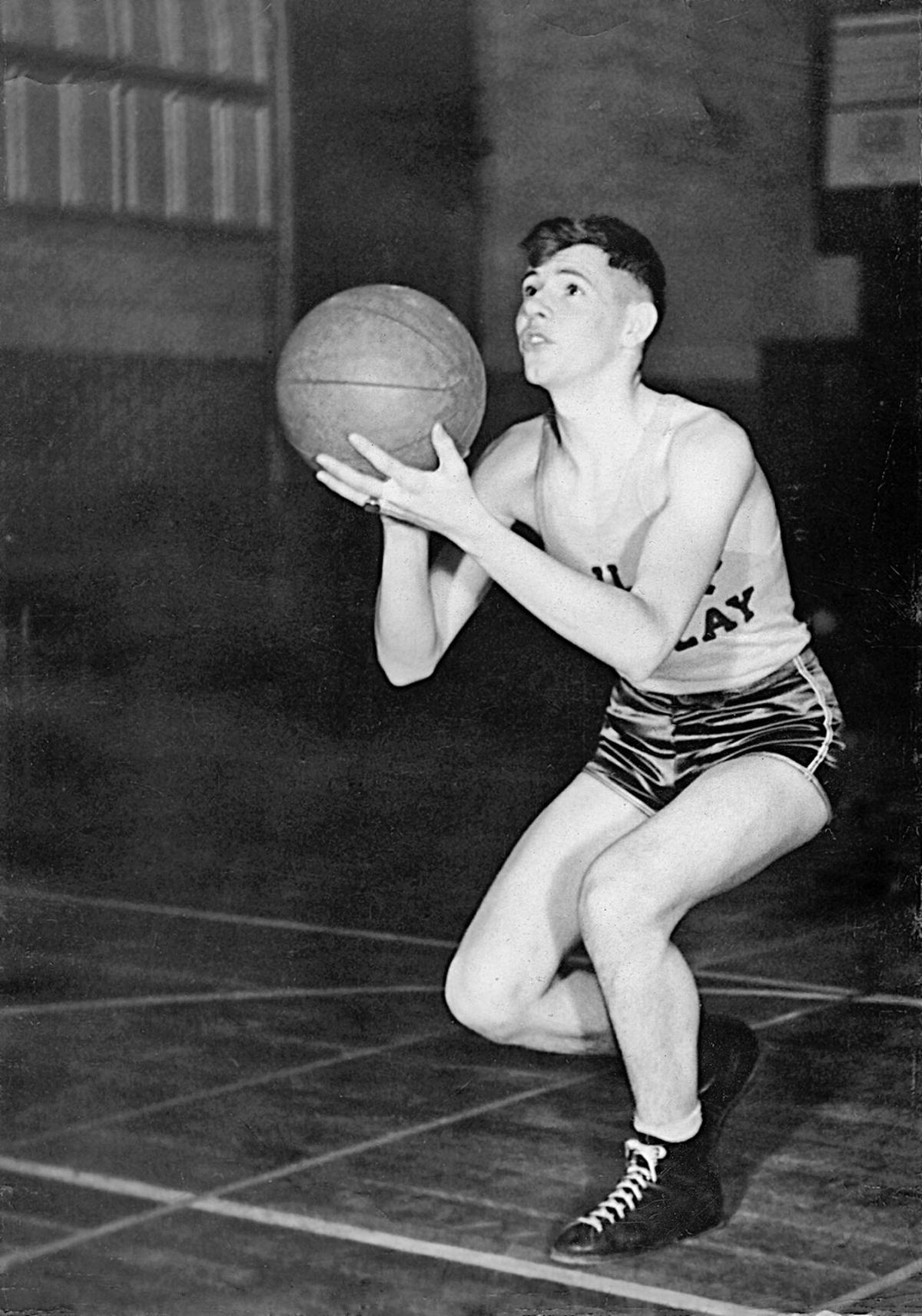 Don Cox basketball
