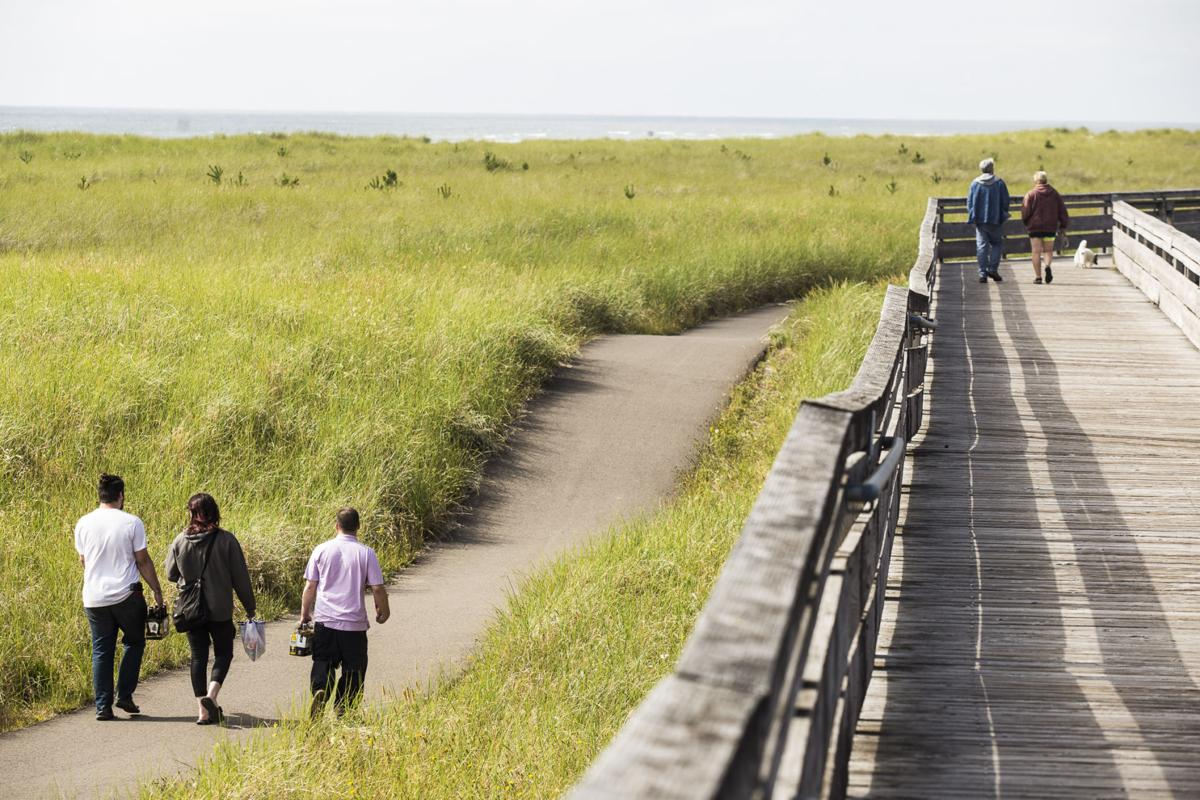 Boardwalk and Discovery Trail attract strollers