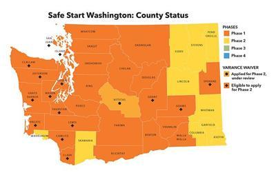 Safe Start Washington: County Status