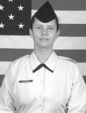 In the Military: Adrianne F. Watson