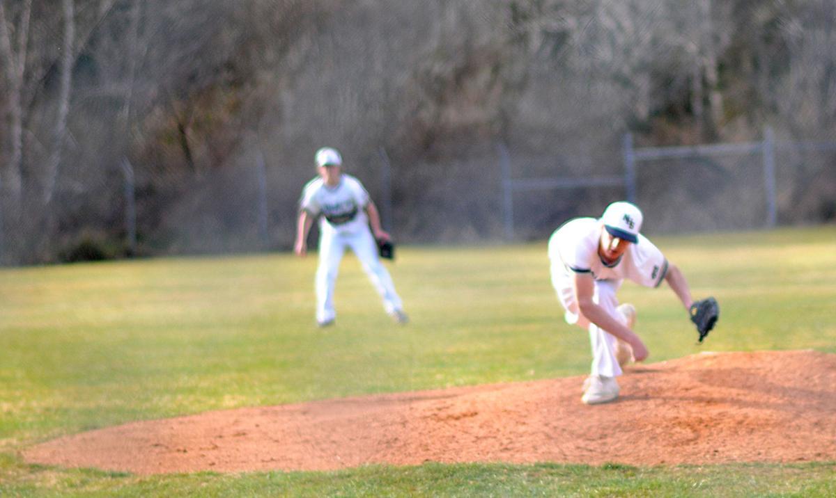 Naselle baseball Clay Bergeson