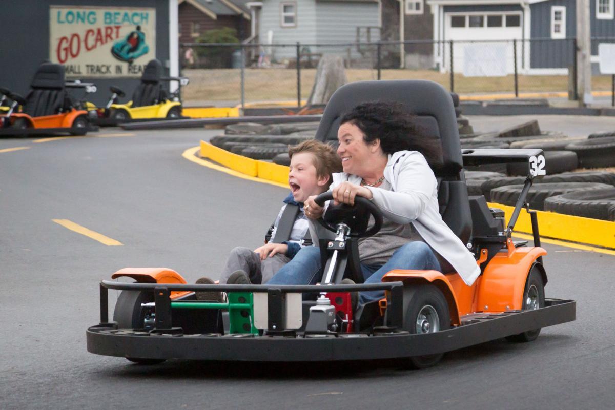 Ladies and gentlemen, start your engines:  Fun Beach Speedway officially open