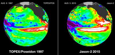 Ocean temperatures rise, boosting odds of El Niño ahead