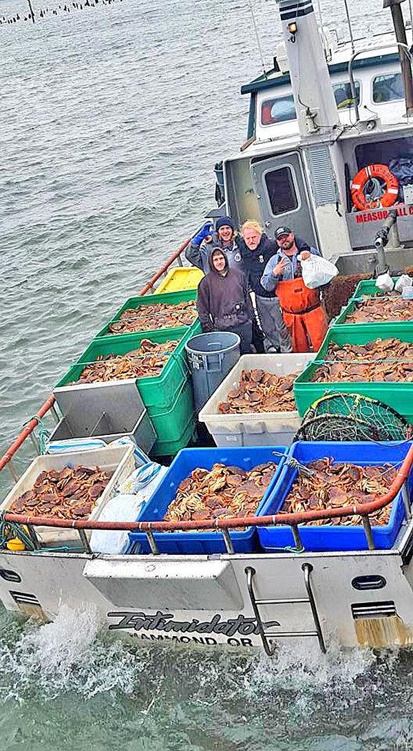 Gourmet harvest: Crab fleet brings home the delicious goods