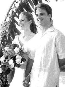 Just Married: Kristen and Benjamin Gross