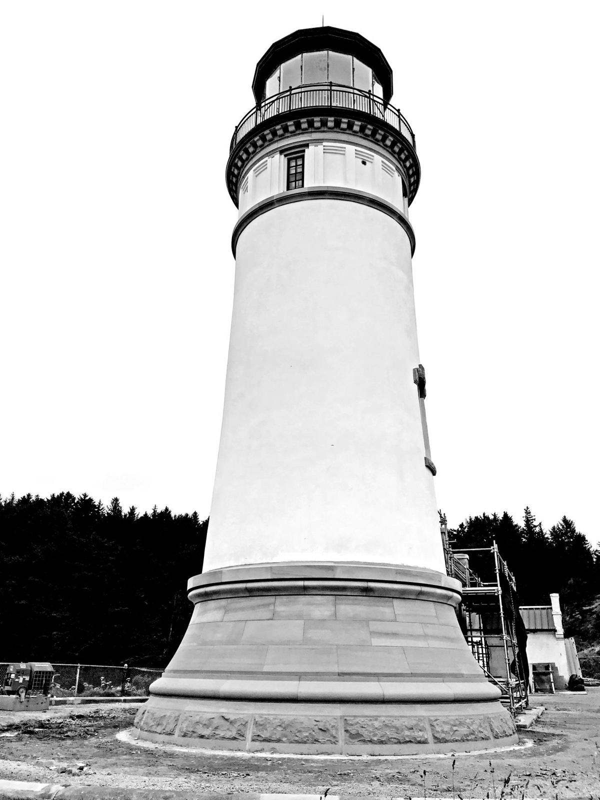 North Head Lighthouse tower good as new