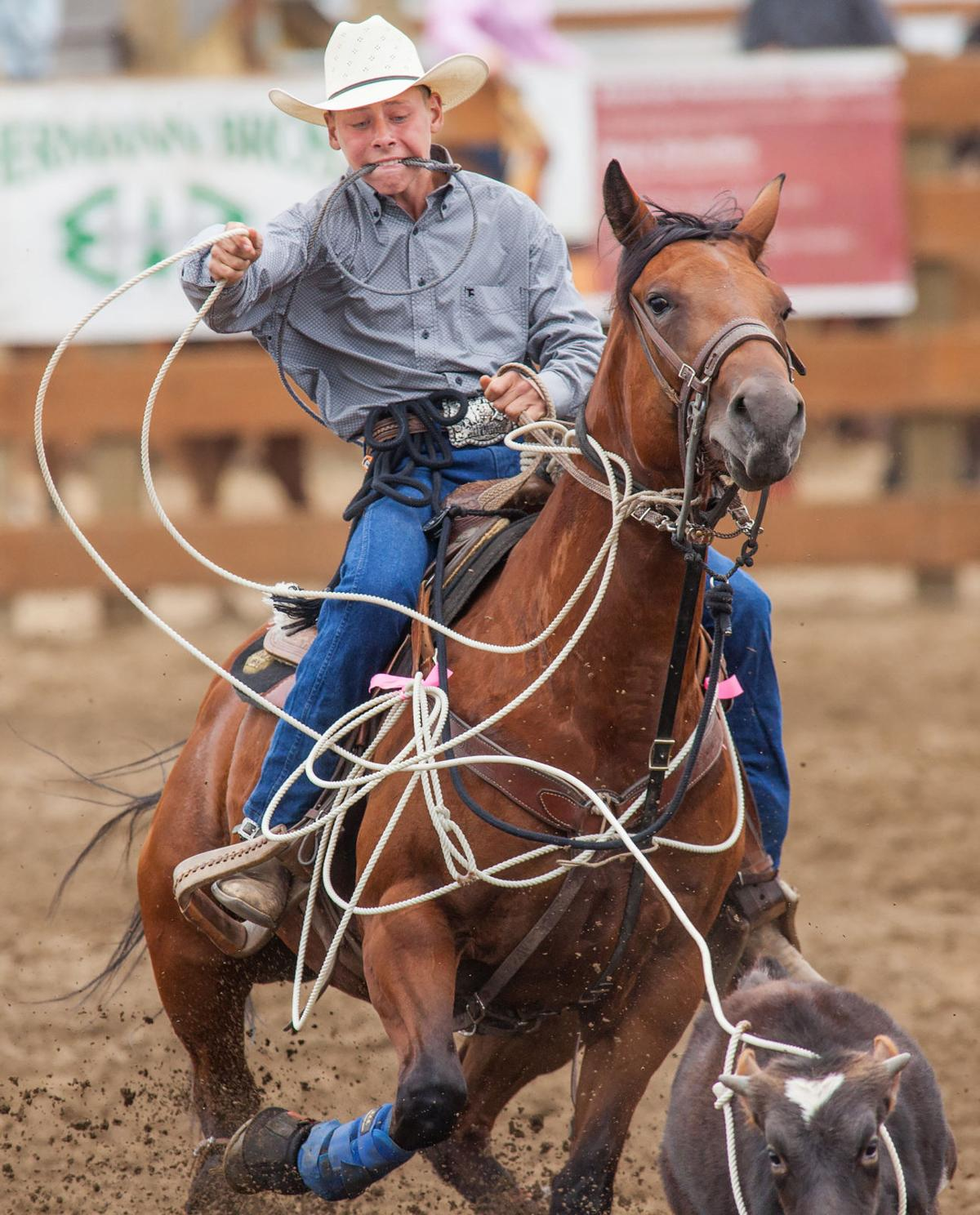 The rodeo is junior, but hearts are big