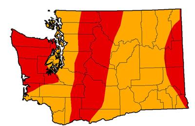 'Extreme drought' hits Washington for first time in a decade