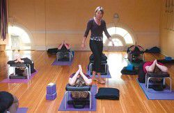 Transforming lives through yoga