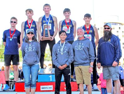 IHS at state track meet