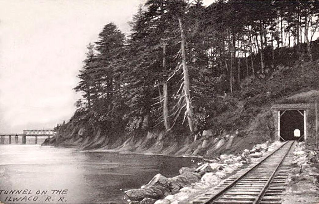 Railroad tunnel through Scarborough Hill