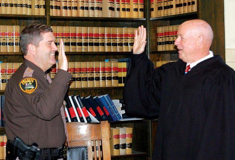 County officials sworn in