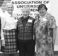Three women honored for outstanding community efforts