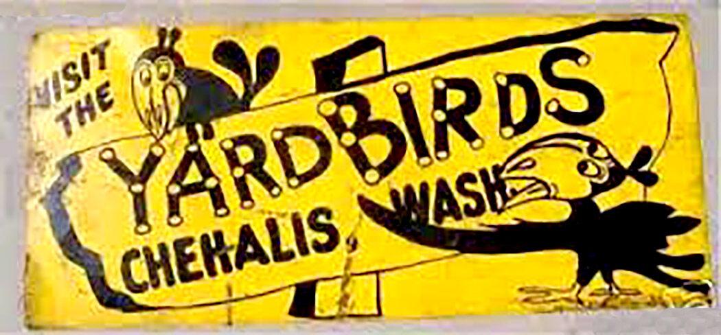 Yard Birds sign