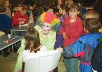 Kids score fun at Super Circus Sunday at local church