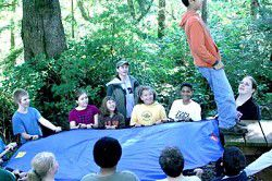 Naselle sixth graders learn the ropes at Adventure Day