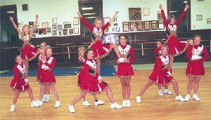 Columbia River ELITE cheerleaders are 'the bomb'