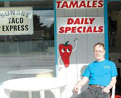 Quick, good meals available at Sunset Taco Express