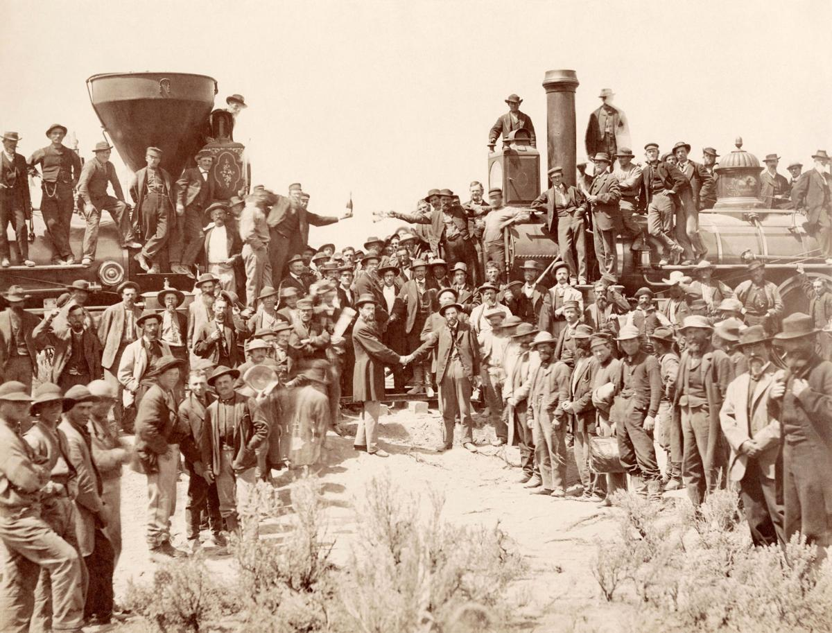 Railroad completed 150 years ago