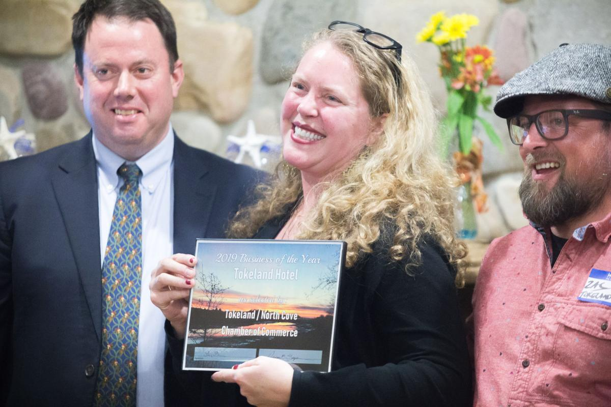 Tokeland Hotel owners Heather Earnhardt and Zach Young