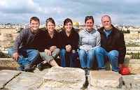 Holmes family makes pilgrimage to Israel