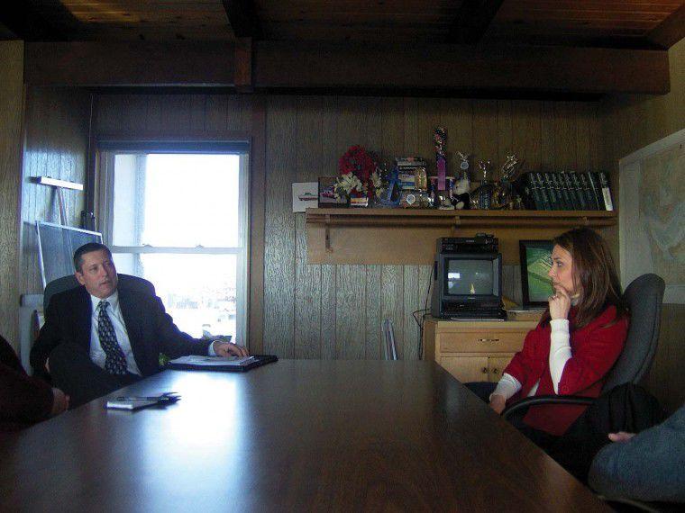 Rep. Herrera talks community needs with commissioners