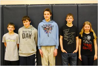 NGRV Middle School Students of the Month