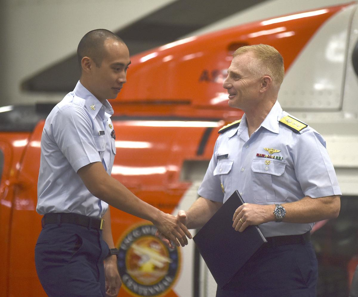 Local Coast Guard crew awarded for hurricane response